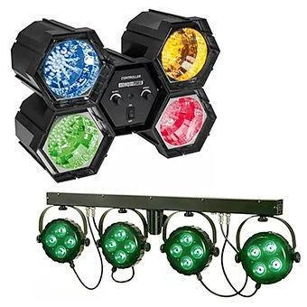 Nous louons tout pour la sonorisation et les jeux de lumières de votre soirée !